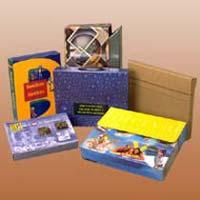 Multi Coloured E Flute Boxes