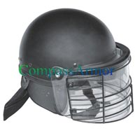 Riot Police Tactical Helmet with Steel Guard Grid  (RPTH-US01SGG)