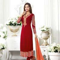 Ladies Georgette Semi Stitched Salwar Suit 01