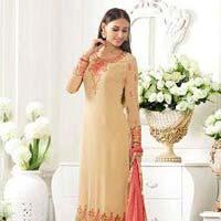 Ladies Georgette Semi Stitched Salwar Suit 04