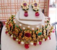 Kundan Necklace Set 12