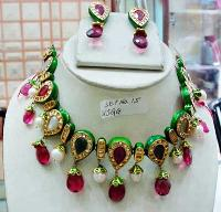 Kundan Necklace Set 18