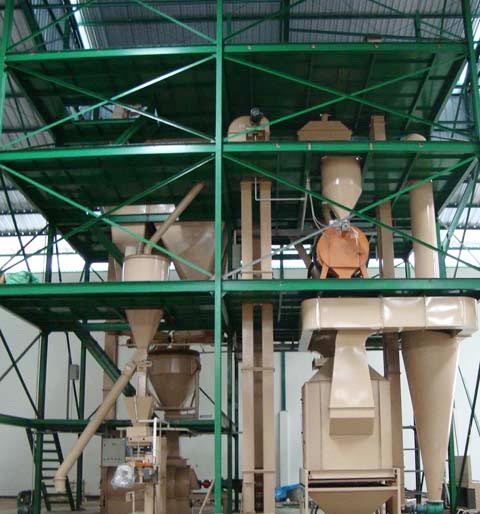 Feed Mill Plant Manufacturers In Punjab Feed Mill Plant