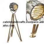 VINTAGE NAUTICAL TRIPOD LAMP