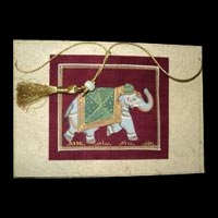 Silk Painting Greeting Card