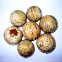 Jasper Stone Spheres