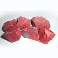 Red Jasper Rough Chips
