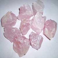 Rose Quartz Rough Chips