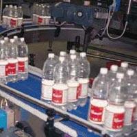 Beverage Bottling Conveyor System