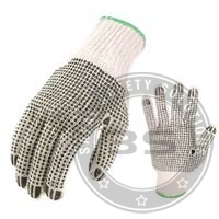 Double Side Dotted Safety Glove