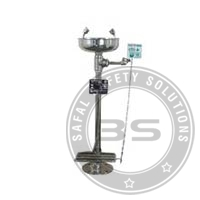 Hand cum Pedal Operated Eye Washer SS