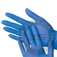Nitrile Examination Safety Gloves