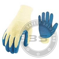 Rubber Coating On Palm Safety Gloves