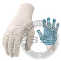 Single Side Dotted Safety Gloves