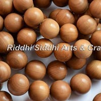 Finished Sandalwood Beads