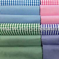 Gingham Shirting Fabric