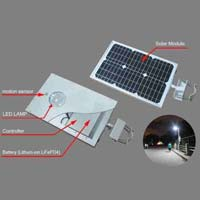 Solar Integrated Street Lighting System