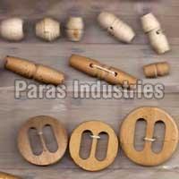 Wooden Buttons 02