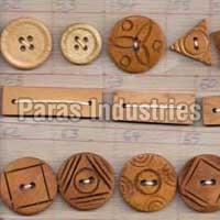Wooden Buttons 05
