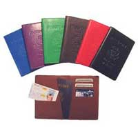 Leather Passport Holder 002