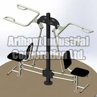 Shoulder Exerciser Double Standarad Assembly 01
