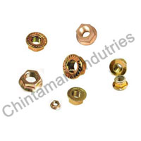 Brass Flange Nuts