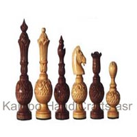 Carved Chess Pieces
