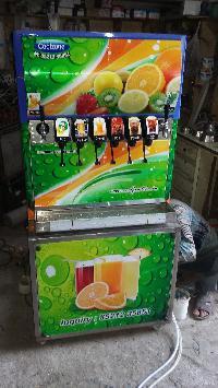 6 Valve Soda Fountain Machine 03