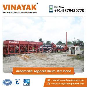 Automatic Asphalt Drum Mix Plant
