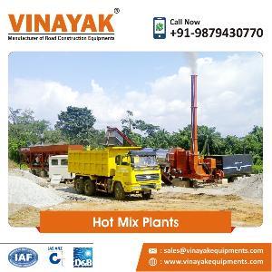 Hot Mix Asphalt Drum Mix Plant