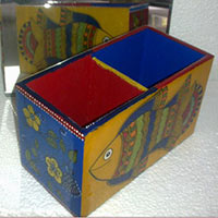 Hand Painted Pen Stand 06