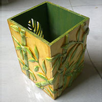 Hand Painted Pen Stand 09
