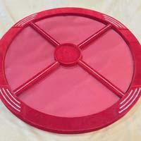 Round Dry Fruit Tray