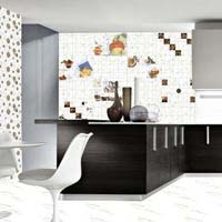 300 X 450 Glossy Kitchen Series Tiles (Statuario 01 HL)