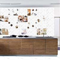 300 X 450 Glossy Kitchen Series Tiles (Statuario 02)