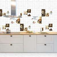 300 X 450 Glossy Kitchen Series Tiles (Statuario 03)