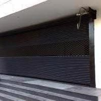 Shutters Gates Remote Operated Rolling Shutter Motorized