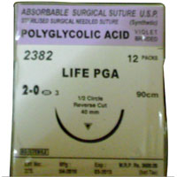 Polyglycolic Acid Suture