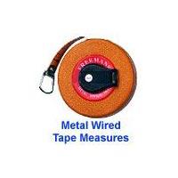 Freemans Metal Wired Measuring Tape