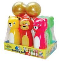 Animal Bowling Toys