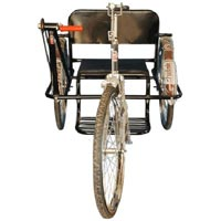 Double Hand Drive Deluxe Tricycle
