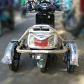 Side Wheel Attachment For Scooter 03