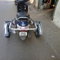Suzuki Access 125 Side Wheel Attachment