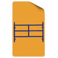 Double Ladder Frame