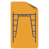 Walkthrough Frame (Diagonal Support)