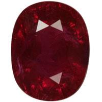 Blood Red Ruby Gemstones