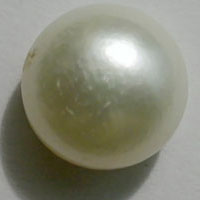White Pearl Gemstone