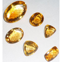 Yellow Topaz  Gemstones (02)