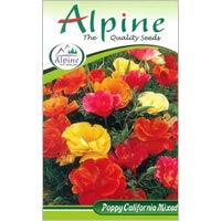 Poppy California Mixed Flower Seeds