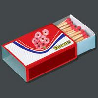 Cardboard Matchboxes